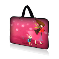 Tablet Sleeve Carrying Case w/ Hidden Handle – Girl Birthday Party