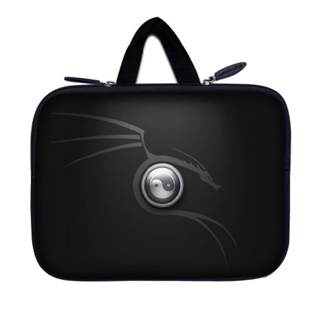 Tablet Sleeve Carrying Case w/ Hidden Handle – Ying Yang Black