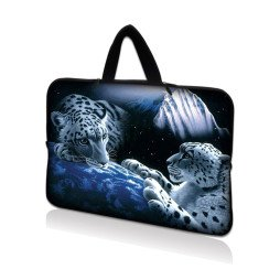 Tablet Sleeve Carrying Case w/ Hidden Handle – Mountain Lions
