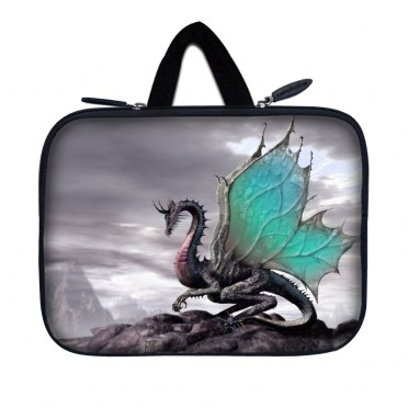 Tablet Sleeve Carrying Case w/ Hidden Handle – Flying Dragon