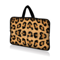 Tablet Sleeve Carrying Case w/ Hidden Handle – Leopard Print
