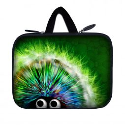 Tablet Sleeve Carrying Case w/ Hidden Handle – Hedgehog
